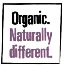 Organic - Naturally Different